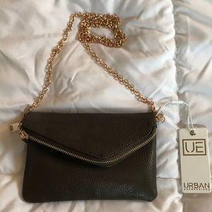 NWT! Vegan Leather Cross-Body Bag